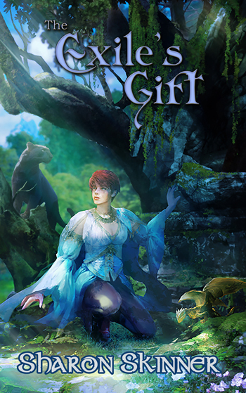 The Exile's Gift novel by Sharon Skinner