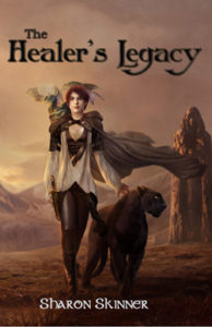 The Healer's Legacy novel by Sharon Skinner